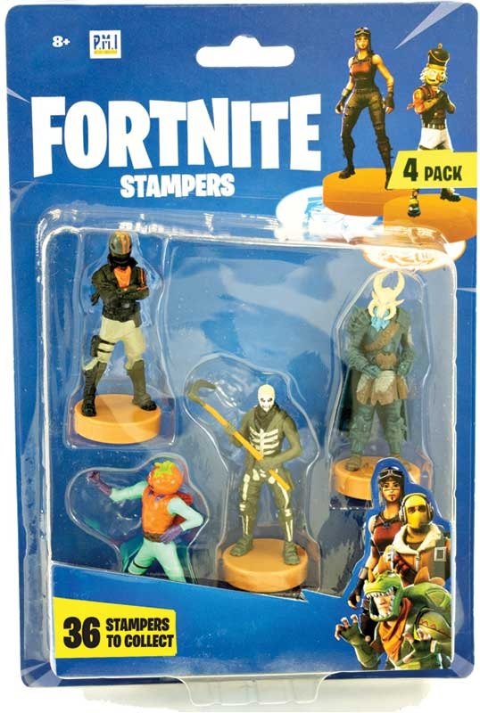 Wholesalers of Fortnite Stampers 4 Pack toys