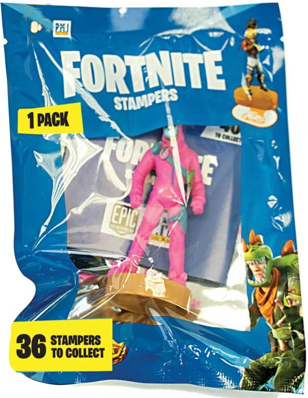 Wholesalers of Fortnite Stampers In Foil Bag toys