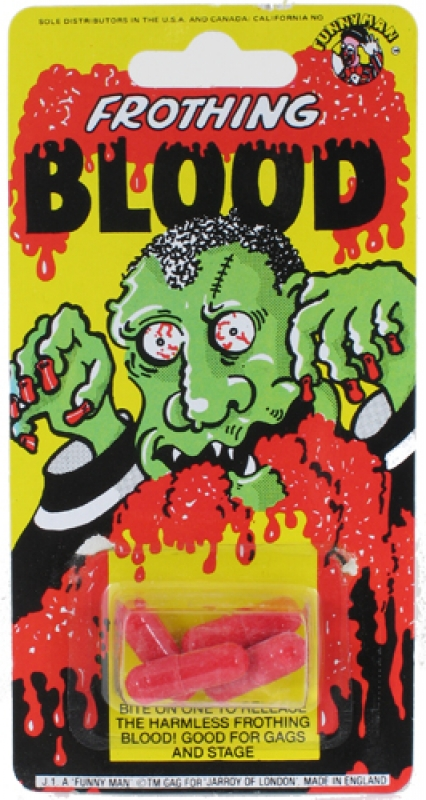 Wholesalers of Frothing Blood toys