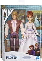 Wholesalers of Frozen 2 Anna And Kristoff toys image