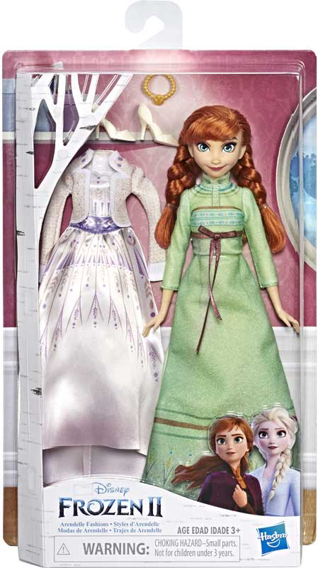Wholesalers of Frozen 2 Arendelle Fashions Anna toys