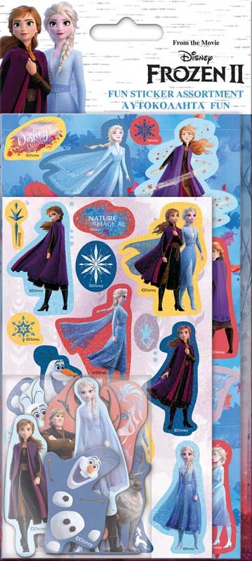 Wholesalers of Frozen 2 Assortment Stickers toys