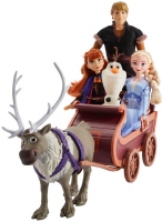 Wholesalers of Frozen 2 Character Multipack With Sled toys image 3