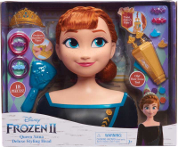 Wholesalers of Frozen 2 Deluxe Anna Styling Head toys image
