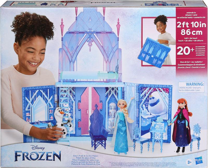 Wholesalers of Frozen 2 Elsas Fold And Go Ice Palace toys