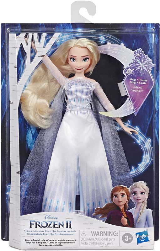 Wholesalers of Frozen 2 Finale Singing Doll Asst toys