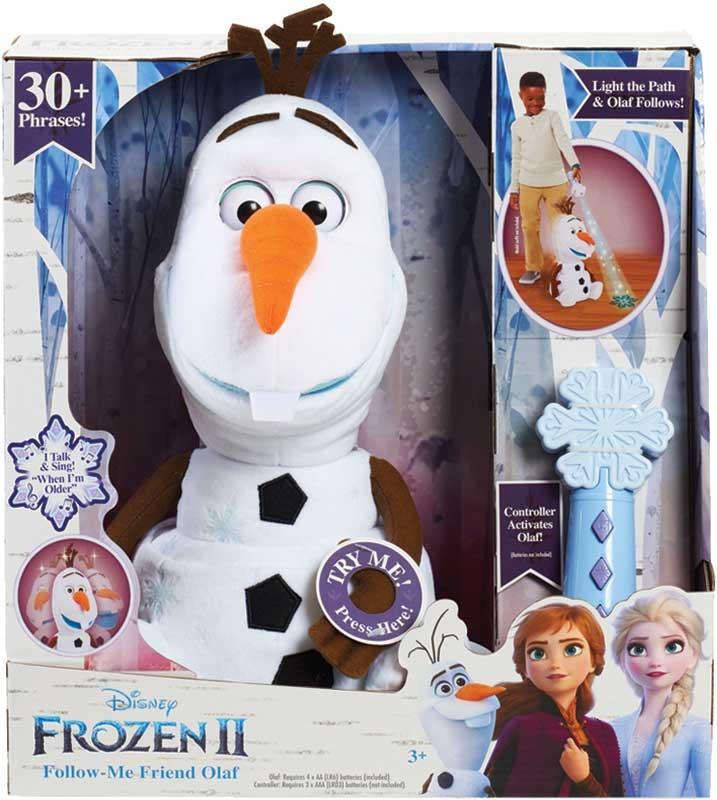 Wholesalers of Frozen 2 Follow Me Friend Olaf Feature Plush toys