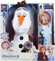Wholesalers of Frozen 2 Follow Me Friend Olaf Feature Plush toys Tmb