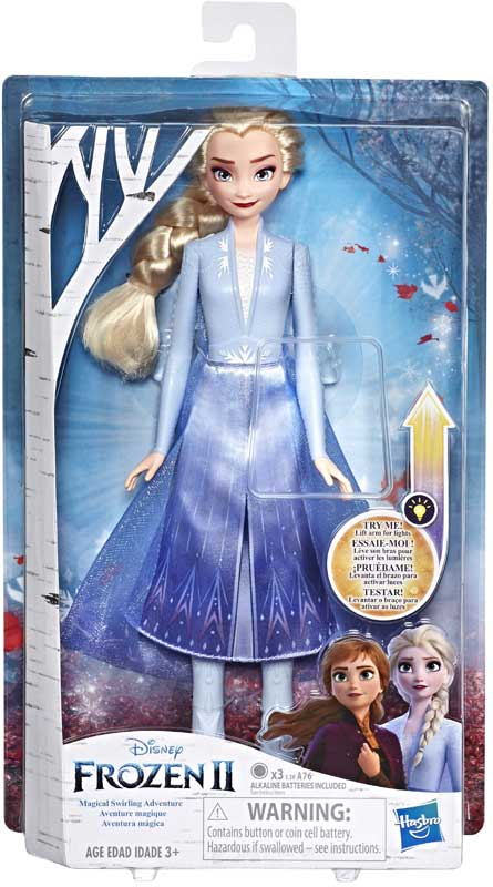 Wholesalers of Frozen 2 Magical Swirling Adventure Elsa toys