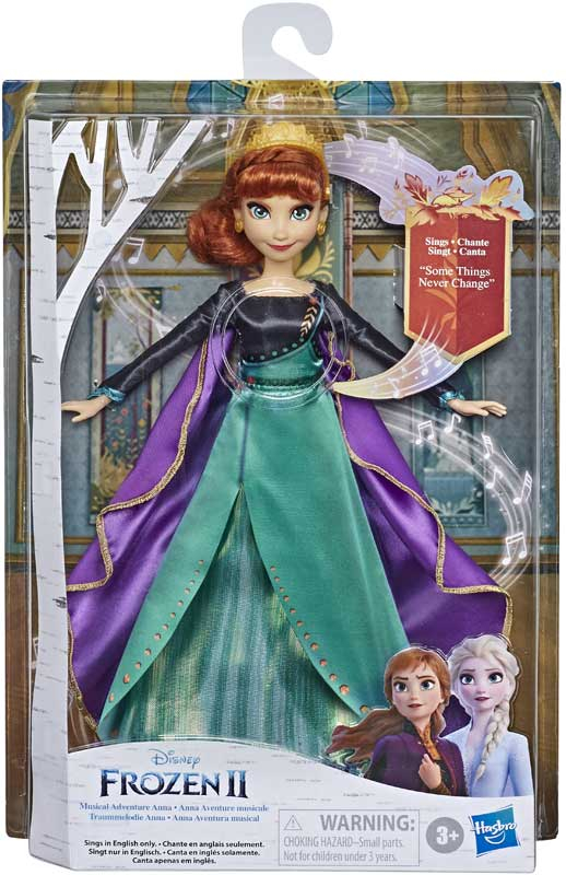 Wholesalers of Frozen 2 Musical Adventure Anna toys