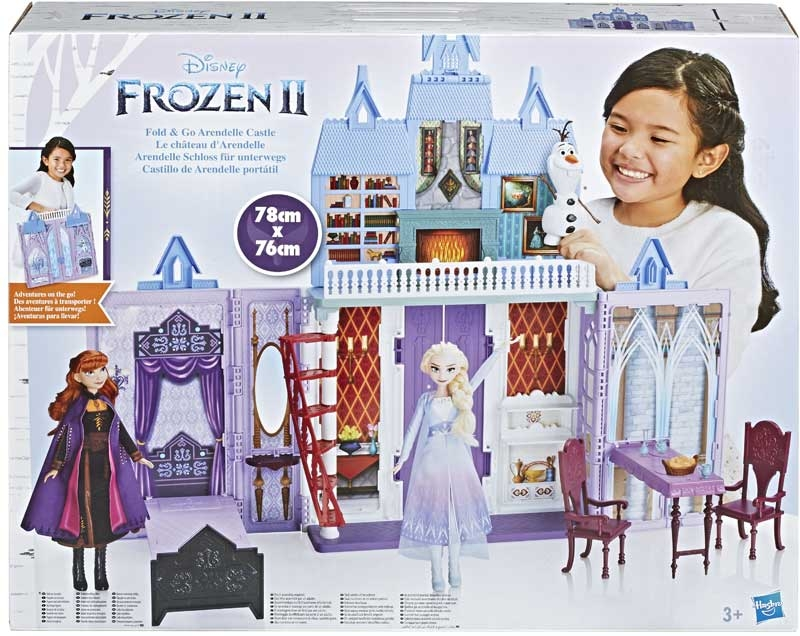 Wholesalers of Frozen 2 Fold And Go Arendelle Castle toys