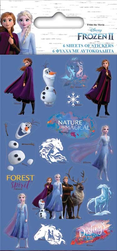 Wholesalers of Frozen 2 Party Pack Stickers toys