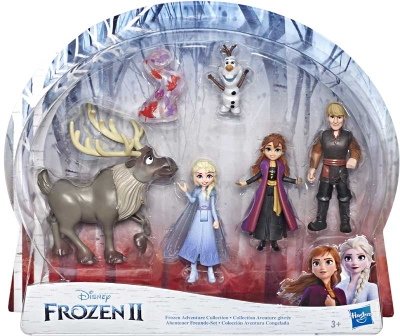 Wholesalers of Frozen 2 Adventure Collection Asst toys