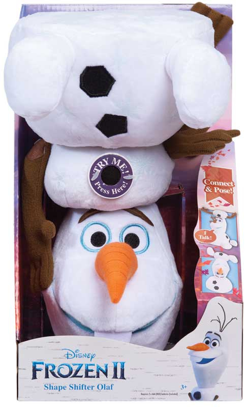 Wholesalers of Frozen 2 Shape Shifter Olaf toys