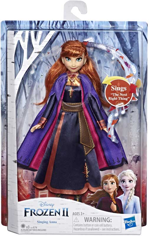 Wholesalers of Frozen 2 Singing Anna toys