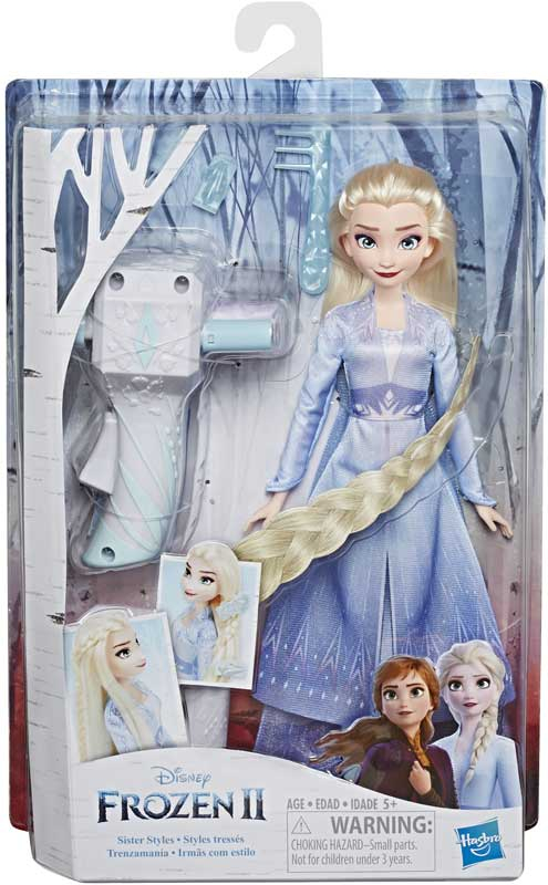 Wholesalers of Frozen 2 Sister Styles Elsa toys