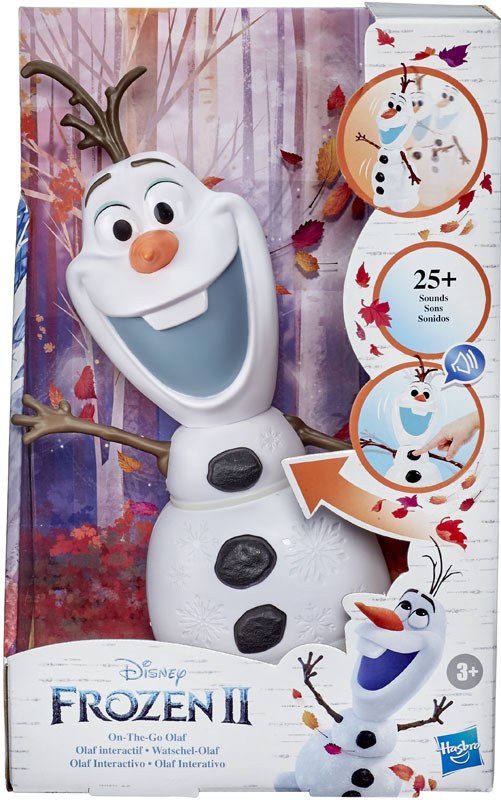 Wholesalers of Frozen 2 Walk And Talk Olaf toys