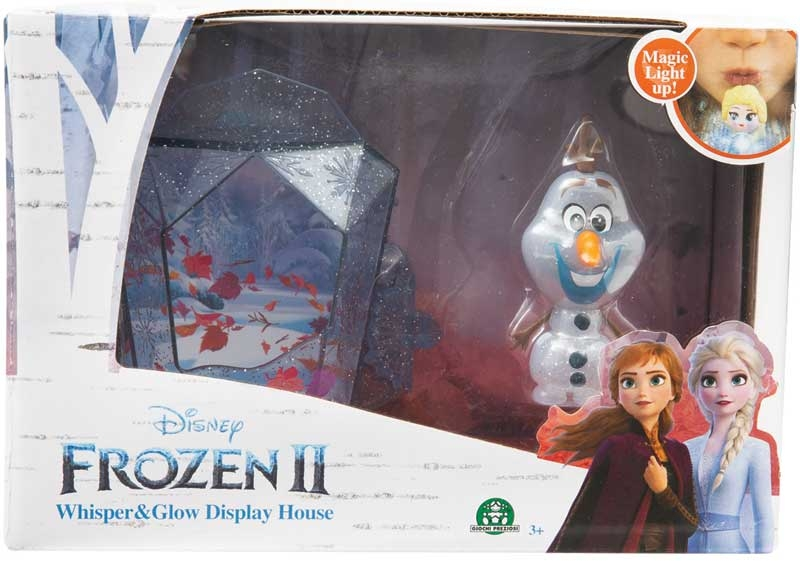 Wholesalers of Frozen 2 Whisper & Glow Display House - Olaf toys