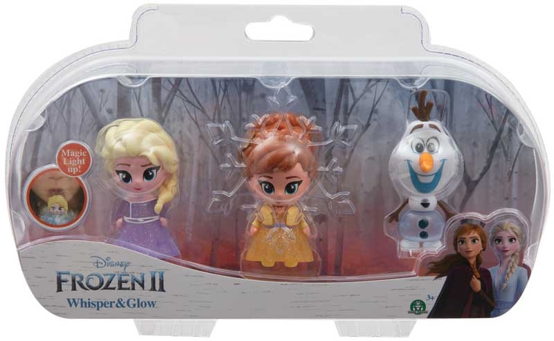 Wholesalers of Frozen 2 Whisper & Glow Triple Pack toys