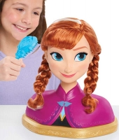 Wholesalers of Frozen Deluxe Anna Styling Head toys image 3