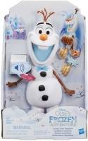 Wholesalers of Frozen Holiday Special Snacking & Talking Olaf toys image