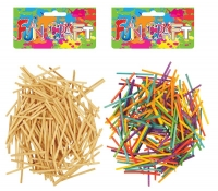 Wholesalers of Fun Craft - Match Sticks 5cm 2 Asst toys image