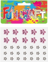 Wholesalers of Fun Craft - Sticker Jewels Set 3 Asst Designs toys image