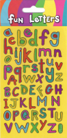 Wholesalers of Fun Letters Sparkle Stickers toys image