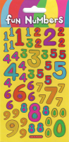 Wholesalers of Fun Numbers Sparkle Stickers toys image
