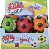 Wholesalers of Fun Sport 4inch Pu Soccer Ball 6 Asst toys image