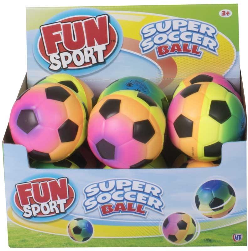Wholesalers of Fun Sport 4inch Pu Rainbow Super Soccer Ball toys