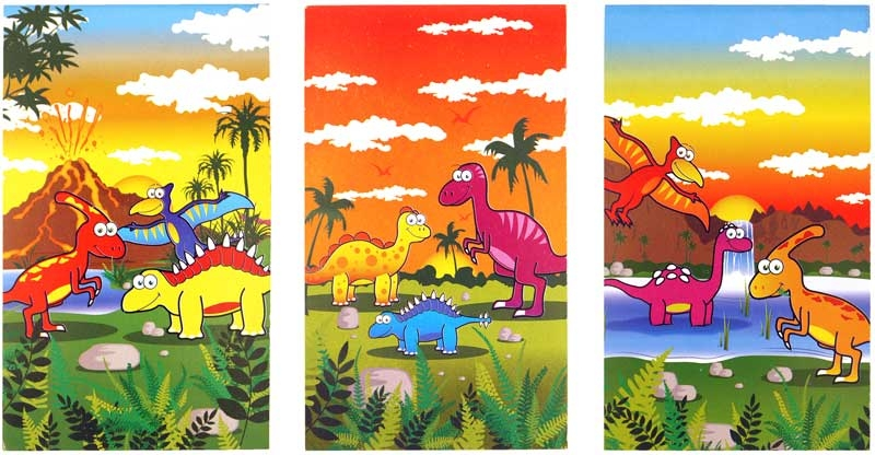 Wholesalers of Fun Stationery - Dinosaur Notebook toys