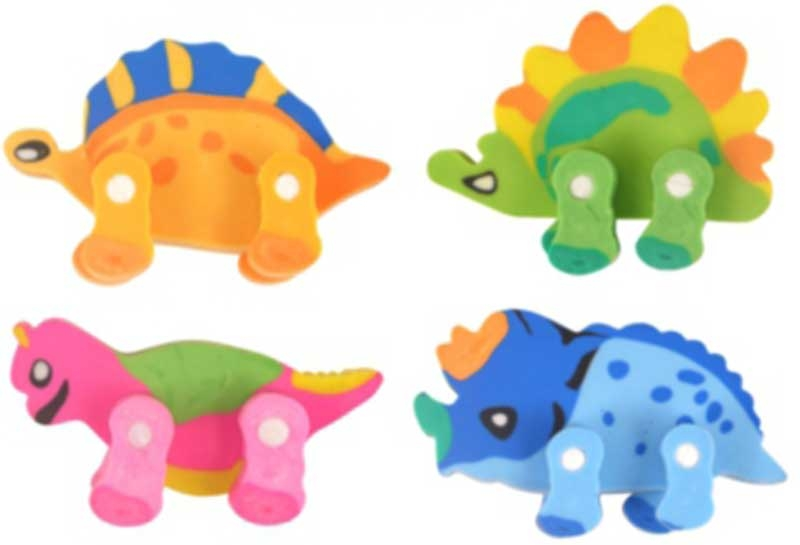 Wholesalers of Fun Stationery - Eraser Dinosaur Asst toys