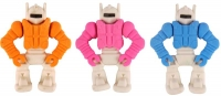 Wholesalers of Fun Stationery - Eraser Robot 5.5cm Asst toys image