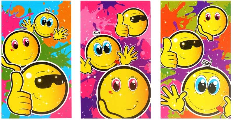 Wholesalers of Fun Stationery - Smile Notebook toys