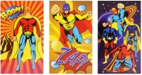 Wholesalers of Fun Stationery - Super Hero Note Book Asst Design toys image