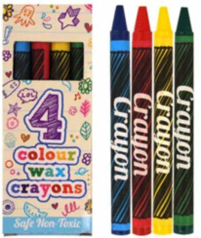 Wholesalers of Fun Stationery - Wax Crayons toys