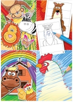 Wholesalers of Fun Stationery Book Fun Colouring 10.5cm X 14.5cm toys image