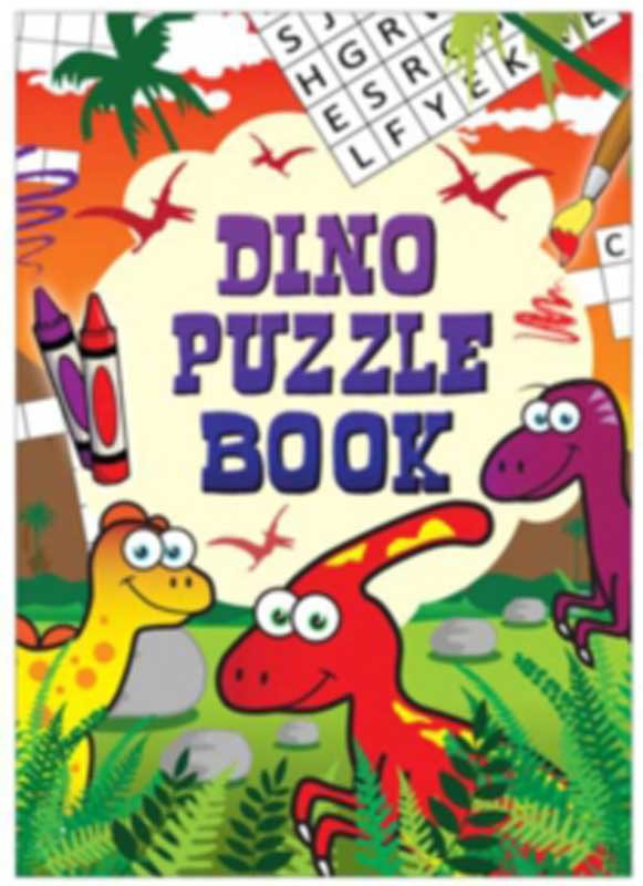 Wholesalers of Fun Stationery Book Fun Dinosaur Puzzle 10.5cm X 14.5cm toys