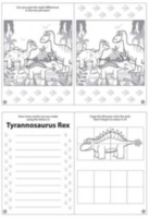 Wholesalers of Fun Stationery Book Fun Dinosaur Puzzle 10.5cm X 14.5cm toys image 3