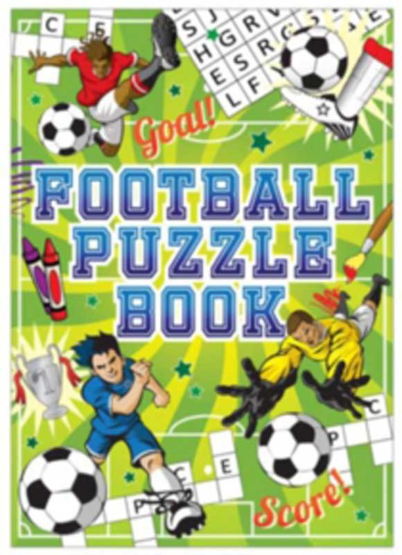 Wholesalers of Fun Stationery Book Fun Football Puzzle 10.5cm X 14.5cm toys
