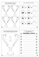 Wholesalers of Fun Stationery Book Fun Football Puzzle 10.5cm X 14.5cm toys image 2