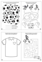 Wholesalers of Fun Stationery Book Fun Football Puzzle 10.5cm X 14.5cm toys image 3