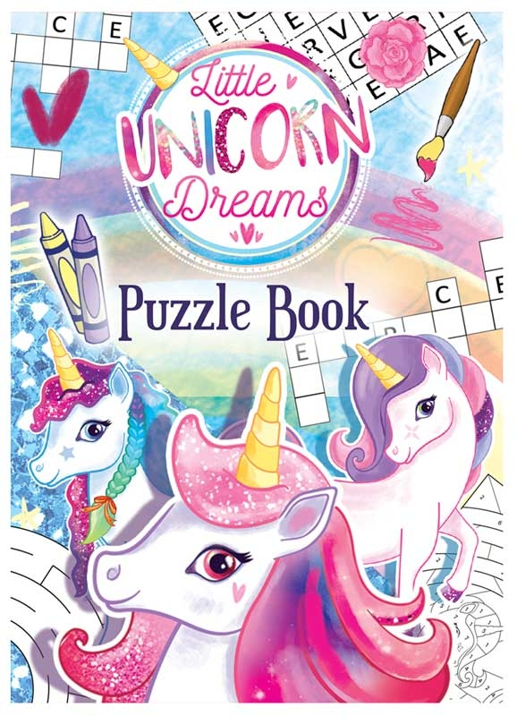 Wholesalers of Fun Stationery Book Fun Unicorn Puzzle 10.5cm X 14.5cm toys
