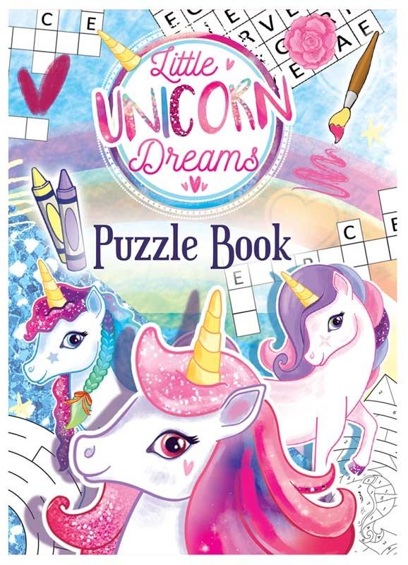 Wholesalers of Fun Stationery Book Fun Unicorn Puzzle 10.5cm X 14.5cm toys
