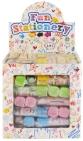 Wholesalers of Fun Stationery Eraser Lipstick 7 Cm 5 Asst Cols toys image 2