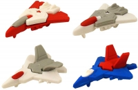 Wholesalers of Fun Stationery Eraser Planes 5.5 Cm 4 Asst toys image
