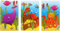Wholesalers of Fun Stationery Notebook Sealife 9.3cm X 5.5cm 3 Asst toys image
