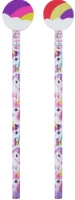 Wholesalers of Fun Stationery Pencil Witheraser Top Unicorn toys image 3