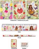Wholesalers of Fun Stationery Stationery Set 5 Pc Fairy toys image